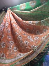 Cotton Synthetic Blend Sari Indian Bollywood Casual Ladies Dress Material Saree
