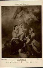 Kunst um 1910 Sainte Famille Holy Family Murillo Künstlerkarte Kunst-Postkarte