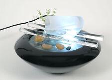 WeiVa Feng Shui Keramik - Glas Zimmerbrunnen mit LED Beleuchtung 29184