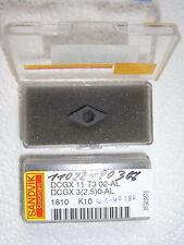 NEU 1 SANDVIK DCGX11T302-AL 1810 mit Rechnung Wendeplatten Diamant Diamond