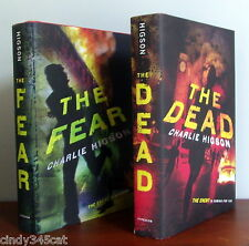 Charlie Higson The Fear & The Dead 1st U.S. Editions H/C D/J Zombie ENEMY SERIES