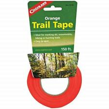Coghlans Bright Orange Trail Tape 150' - Ideal For Marking Ski/Snowmobile/Hiking