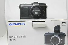 Olympus E-P2 Pen Digital SLR Camera Body. Boxed Excellent.