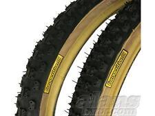 Tioga Comp III Old School Skinwall BMX Tyres 20 x1.75/2.125 Pair Burner Haro GT