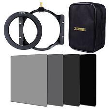 7 in1 Set ND2 ND4 ND8 ND16 Filter+77mm Ring+Filterhalter+16 Slot Case für Cokin
