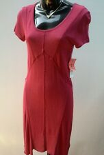 ASOS Size 8 Red Short Sleeve Fine Knit Short Sleeve Round Neck DRESS NWT RRP$149