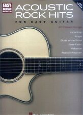 Acoustic Rock Hits Easy Guitar Songbook Noten Tab für Gitarre leicht
