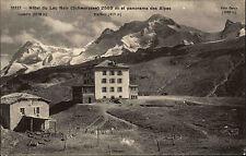 Schwarzsee Schweiz Freiburg ~1910 Hotel du Lac Noir Panorama Alpes Alpen Gasthof