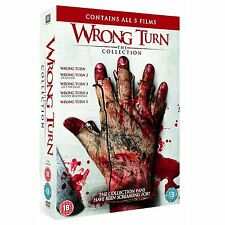 Wrong Turn 1+2+3+4+5 The Complete Collection DVD Boxset New & Sealed Free Post