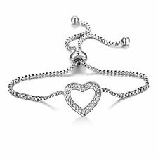 Heart Friendship Bracelet with Crystals from Swarovski® in Gift Box