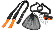 Suspension Trainer Strength Training Crossfit Straps Home Workout / Door Anchor