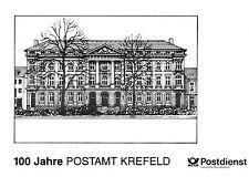 Klappkarte 100 Jahre Postamt Krefeld 1994