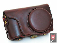 V264a Leather Case Bag w/ Body Case Strap for Samsung Galaxy Camera 2 EK GC200