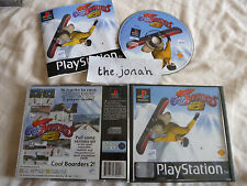 Cool Boarders 2 PS1 (COMPLETE) snowboard rare black label Sony Playstation