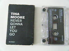 TINA MOORE NEVER GONNA LET YOU GO CASSETTE TAPE SINGLE DELIRIOUS BMG 1997
