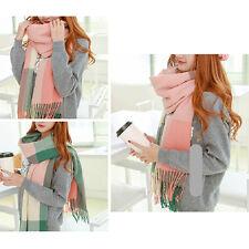 Women Fashion Winter Warm Soft Pashmina Long Tassel Scarf Shawl Wrap Scarves