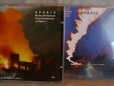Aparis- Same/ Despite the fire-fighters efforts...- 2 CDs- ECM- Made in Germany