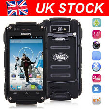 Discovery V8 Smartphone Dual Core 2G 3G Rugged Android Mobile Cell Phone Black