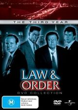 Law And Order : Season 3 (DVD, 2006, 6-Disc Set)