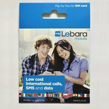 2G Sim Card For GPS Car Vehicle Mini Child Tracker Pay As You Go PAYG Compatible