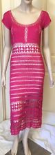 Vintage Stretchy Crocheted Dress In A Size M Not Lined By Lili