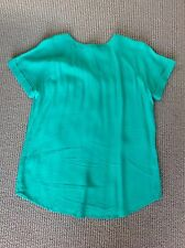 Brand New Jag Ladies Short Sleeve Green Shirt Size 8