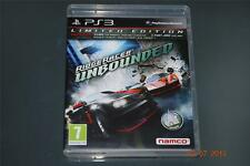 Ridge Racer Unbounded Limited Edition PS3 Playstation 3 **FREE UK POSTAGE**