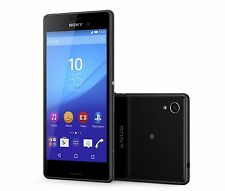 Sony Xperia M4 Aqua E2303 Black 4G GSM Factory Unlocked 13.0MP 8GB Smartphone