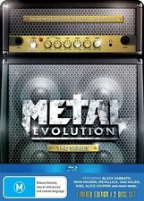 Metal Evolution: The Series - Limited Edition Steelcase BRAND NEW 2 DISC BLU RAY