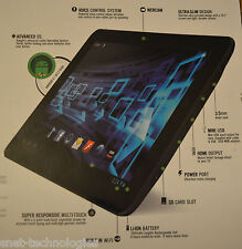 CnM Touchpad 7 inch 1.6GHz Dual Core Tablet BLACK FRONT & BACK CAMERA OS 4.1