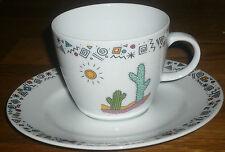 1 Kaffeetasse mit Untertasse    Winterling  Kirchenlamitz  TEQUILA