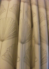 "EXTRA LONG John Lewis Curtains 154""wX97""d Natural Cream Taupe&Laura Ashley Ties"