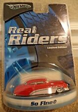 HOT WHEELS REAL RIDERS SO FINE BUICK H9208 *NEW*