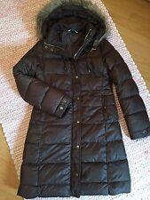Polo Ralph Lauren Daunen Mantel Jacke Damen Winter Mantel braun S / 36 wie NEU!