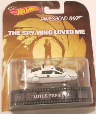 1/64 Hot Wheels Retro Lotus Esprit SI James Bond 007