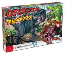 OPERATION DINOSAURS - collectors edition hasbro board game for adults kids