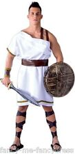 Mens Greek Spartan Sparta Warrior Film Soldier Fancy Dress Costume Outfit Large
