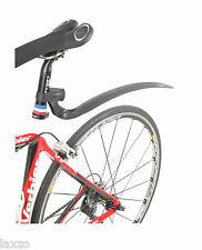 Zefal Swan Rear Mudguard Black Light weight Clip On Bicycle Road Bike Mudguard
