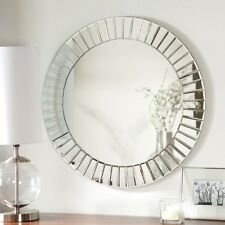 decorative wall mirrors large round bathroom mirror modern home decor metal art