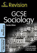 Collins Revision - GCSE Sociology for AQA - Wilson, Pauline NEW Paperback 5 May