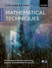 MATHEMATICAL TECHNIQUES 4th Edition - Jordan & Smith
