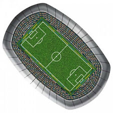 8 X FOOTBALL STADIUM PITCH PAPER PLATES Euro Football Birthday Party 26200