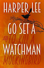 GO SET A WATCHMAN BY HARPER LEE, NEW, HARDCOVER, FREE POSTAGE