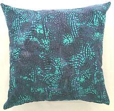Handmade Aqua and Purple Abstract Home Decor Cushion Cover 45x45  New