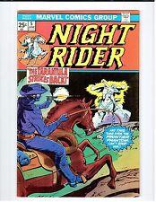 Marvel NIGHT RIDER #5 1975 Vintage Comic