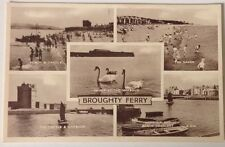 Broughty Ferry Vintage Postcard  Mixed Scenes Valentines Old Original