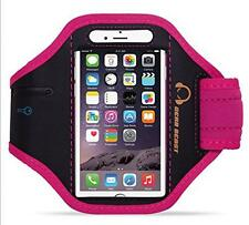 GEAR BEAST PINK SPORTS ARMBAND FOR SAMSUNG GALAXY NOTE 2 3 APPLE IPHONE 6 PLUS