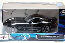 DODGE VIPER SRT GTS - 2013 - BLACK -  1:24 MAISTO