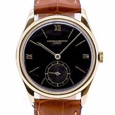 Vintage Vacheron Constantin Cal.453 / 34 mm / 18K Rose Gold / Gilt Black