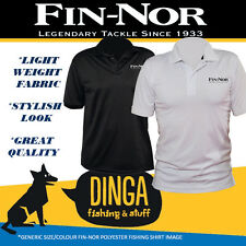 Fin-Nor Embroidered Polo Fishing Shirt 3X Large - Black